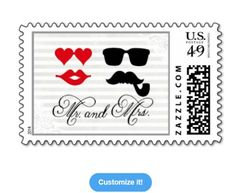 Kissing Booth, Mr.  Mrs. Wedding Postage at: http://www.zazzle.com/mr_mrs_wedding_postage-172055737597819810?rf=238623693837530845