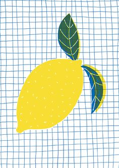 #illustration #hellomarine #meiklejohn #digital #decorative #contemporary #stylised #lemon
