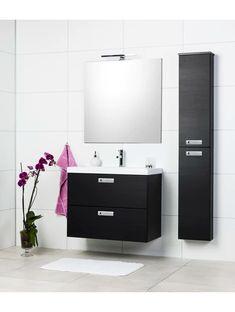 ALLASKAAPPI CELLO SAGA 800 MUSTA Bathroom Lighting, Vanity, Cello, Mirror, Saga, Furniture, Home Decor, Bathroom Light Fittings, Dressing Tables