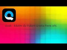 Quik aplicativo para criar vídeos intro para Youtube no iOS ♡ ♥