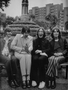 I can't stop laughing at the expressions on Paul and John's faces!