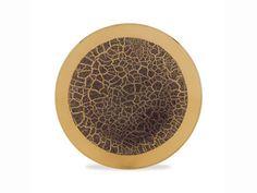 Michael Wainwright Tempio Luna Espresso Gold Coupe Bread  http://www.thebowlcompany.com/products/Michael-Wainwright-Tempio-Luna-Espresso-Gold-Coupe-Bread/164337