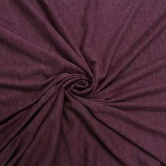 8c5e4c671d4 Burgundy Chambray- Solid Poly Rayon Spandex 160 GSM Light-Weight Stretch  Jersey Knit Fabric