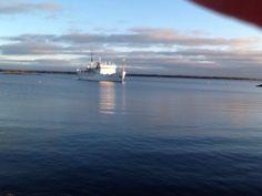 Koululaiva Katariina saapuu Sapokkaan