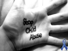 somethings can't be healed with bandages... #childabuseawareness