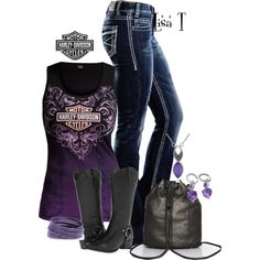"""Tough Chick"" by lkthompson on Polyvore"