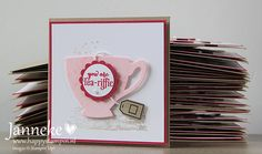 Janneke  Happy Stampin'   Timeless Textures, A Nice Cuppa and Cups & Kettle Framelits