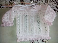 Crochet Bebe, Crochet Top, Lace Shorts, White Shorts, Baby Knitting, Little Things, Projects To Try, Clothes, Jersey