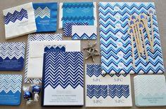 #Missoni inspired #wedding #invitations