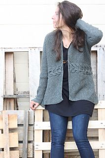 Ravelry: Laurel Cardigan pattern by Amy Christoffers Knit Cardigan Pattern, Sweater Knitting Patterns, Crochet Cardigan, Free Knitting, Knitting Ideas, Oversized Cardigan, Long Cardigan, Cardigan Sweaters, Cardigans For Women