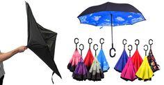 Smart-Brella - The World's First Reversible Umbrella – MAGIC REVERSIBLE UMBRELLA