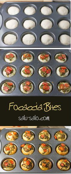 Focaccia Bites-TO GO WITH A BIG SALAD?