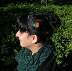 Horquilla de cuero de diseño original design por EvitaPulgarcita