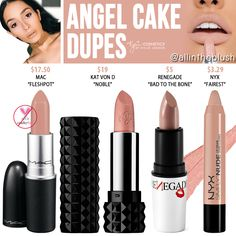 Lipstick dupes 191754896622036563 - Kylie Cosmetics Angel Cake Silver Series Lipstick Dupes Source by SerendipT Kylie Jenner Lipstick, Drugstore Makeup, Makeup Lipstick, Lipsticks, Makeup Eyes, Makeup Brush Dupes, Liquid Lipstick, Makeup Brushes, Beauty Dupes
