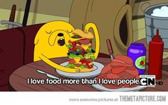 Adventure Time is always right…