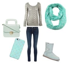 """Sweater weather"" by lexilew290 ❤ liked on Polyvore featuring rag & bone, Alloy Apparel, UGG Australia, Dorothy Perkins, Uncommon and ModestlyChic Apparel"