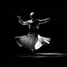 """We come spinning out of nothingness, scattering stars like dust."" — Rumi #sufi #sufism #whirling #dervish #mevlevi #rumi"