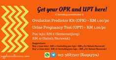 Get your OPK and UPT here!