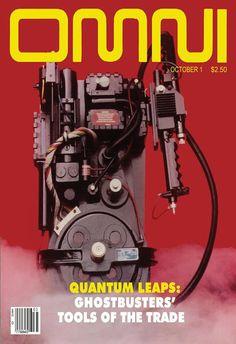 Ghostbusters Proton Pack Omni Cover Digital Art Print