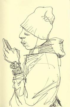 A Sketchy Past, The Art of Peter de Sève