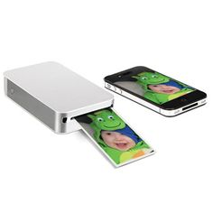 The Portable Smartphone Photo Printer - Hammacher Schlemmer I want one!!!