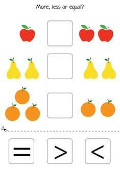 Kindergarten Math Worksheets, Worksheets For Kids, Preschool Activities, Maths, Community Helpers Worksheets, School Doors, Numbers Preschool, Educational Games For Kids, Special Education
