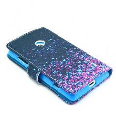 Lumia 520 värikäs lompakkokotelo. Nokia Lumia 520, Zip Around Wallet
