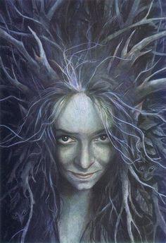 Bruja del bosque / Brian Fround
