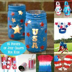 16 Fantastic Fourth of July Crafts for Kids