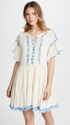 721d438967f16 Free People Wild One Embellished Dress in 2019