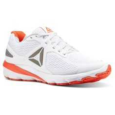 d173977672aa5 Reebok Men s Harmony Road 2 in White Atomic Red Pewter Size 8 - Running  Shoes