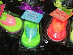 20 Flip Flop Soap Party Favors for Tropical Beach Luau Summer Pool Spa Kids Bridal Shower Slipper Party Favor via Etsy