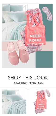 """""""🌛✨✨Set"""" by lauren-ilana ❤ liked on Polyvore featuring Pine Cone Hill, Victoria's Secret and Kate Spade"""