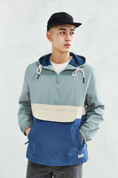 CPO Citywide Colorblock Anorak - Urban Outfitters