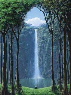 water fall Mt Oku