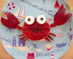 A Crabby Lunch ~ so cute!