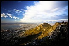 What a view from Table Mountain in Cape Town