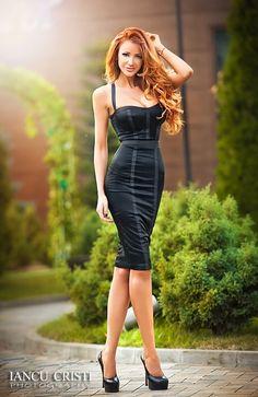 Tight fitting corset dress!