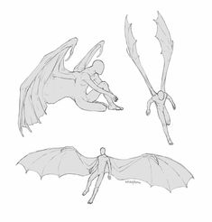 Wings Drawing, Drawing Base, Person Drawing, Art Poses, Drawing Reference Poses, Art Drawings Sketches, Drawing Techniques, Character Design Inspiration, Art Tutorials