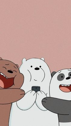 we bare bears wallpapers & wallpapers on wall & wallpapers on wall bedrooms & wallpapers iphone fondos & aesthetic wallpapers & iphone wallpapers & we bare bears wallpapers & cute wallpapers aesthetic & dont touch my phone wallpapers Wallpaper Sky, Cute Panda Wallpaper, Cartoon Wallpaper Iphone, Disney Phone Wallpaper, Kawaii Wallpaper, Cute Wallpaper Backgrounds, Aesthetic Iphone Wallpaper, Wallpaper Lockscreen, Lock Screen Wallpaper