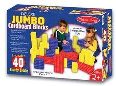 Genius for Wreck it Ralph party - bricks Amazon.com: Melissa & Doug Deluxe Jumbo Cardboard Blocks (40 pc): Toys & Games