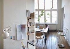 我們看到了。我們是生活@家。: 住在比利時Antwerp的 Sophie Schellekens,這是她與丈夫和貓的家,也是她的工作室!