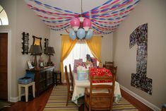 Fine Home Interior Child Birthday Party Decoration Decoration