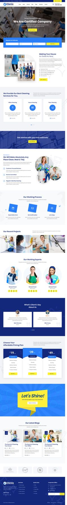 Clenix is a creatively crafted Bootstrap 4 cleaning services WordPress theme that comes with a clean and contemporary design. Whatever services your cleaning company offers, this theme will bring it to the forefront and stimulate high purchases. To make handling it easy, we've availed its extensive documentation online so that you can access it easily. If you encounter difficulties handling our theme, feel free to enlist the services of our dedicated support, available 15 hours daily. Professional Wordpress Themes, Cleaning Services, Contemporary Design, Easy, Free, Products, Housekeeping, Maid Services, Gadget