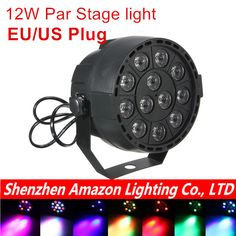 ECO CAT E27 3W 110v-220v Colorful Auto Rotating RGB projector ...