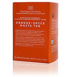Intelligent Nutrients Orange Spice White Tea   Spirit Beauty Lounge