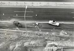 Accident Gran Via. Besòs. 1969  #Besos #Accident #historia #Trencadis #biblioteca #barcelona #library #local history