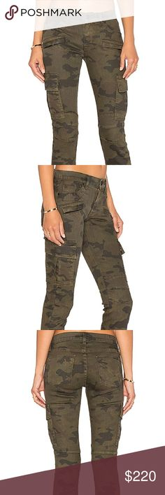 Hudson Colby ankle motto skinny cargo Camo print cargos final price no offers accepted Hudson Jeans Ankle & Cropped