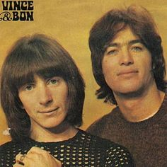 Vincent Lovegrove (right) with a young Bon Scott