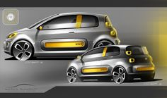 Fiat Uno - sketch Marco Gianotti